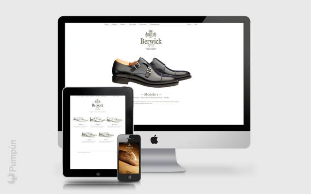 web de berwick 1707 en 3 dispositivos