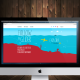 Web follow the glider en una pantalla