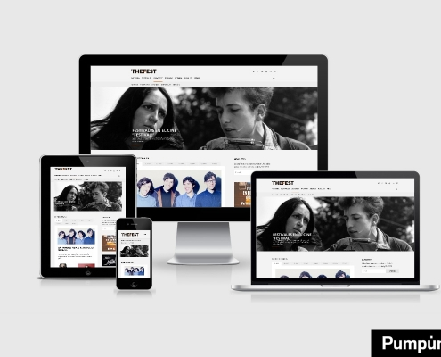 vista de la web the fest en distintos dispositivos miniatura