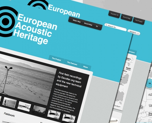 Miniatura de la web de European Acoustic Heritage