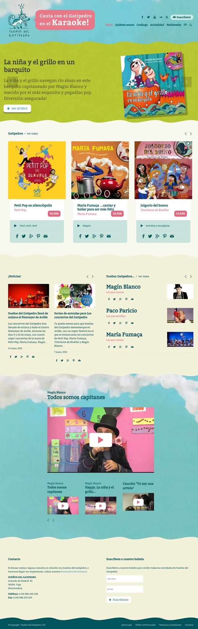 Pagina inicial de gatipedro