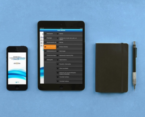 Miniatura de la vista de la app de sogug en tablet y móvil