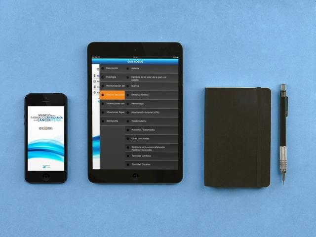 vista de la app de sogug en tablet y movil
