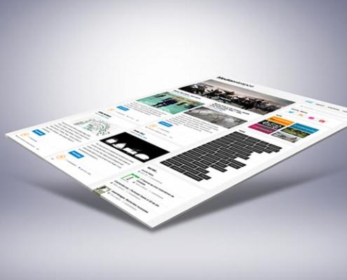 miniatura de vista de media teletipos