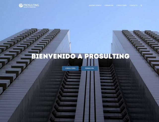 Landing page de prosulting