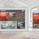 Miniatura de una vista tablet y movil de la web de The room