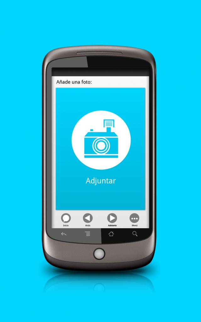 vista de la app wat if en móvil