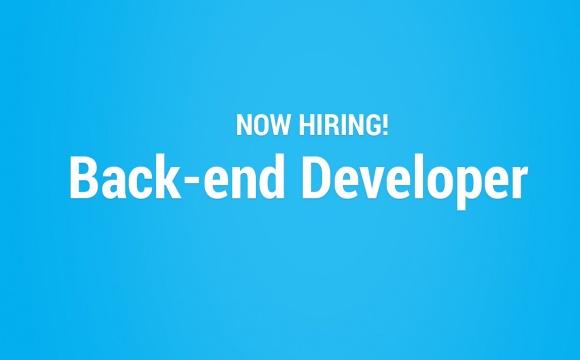 contratamos backend developer